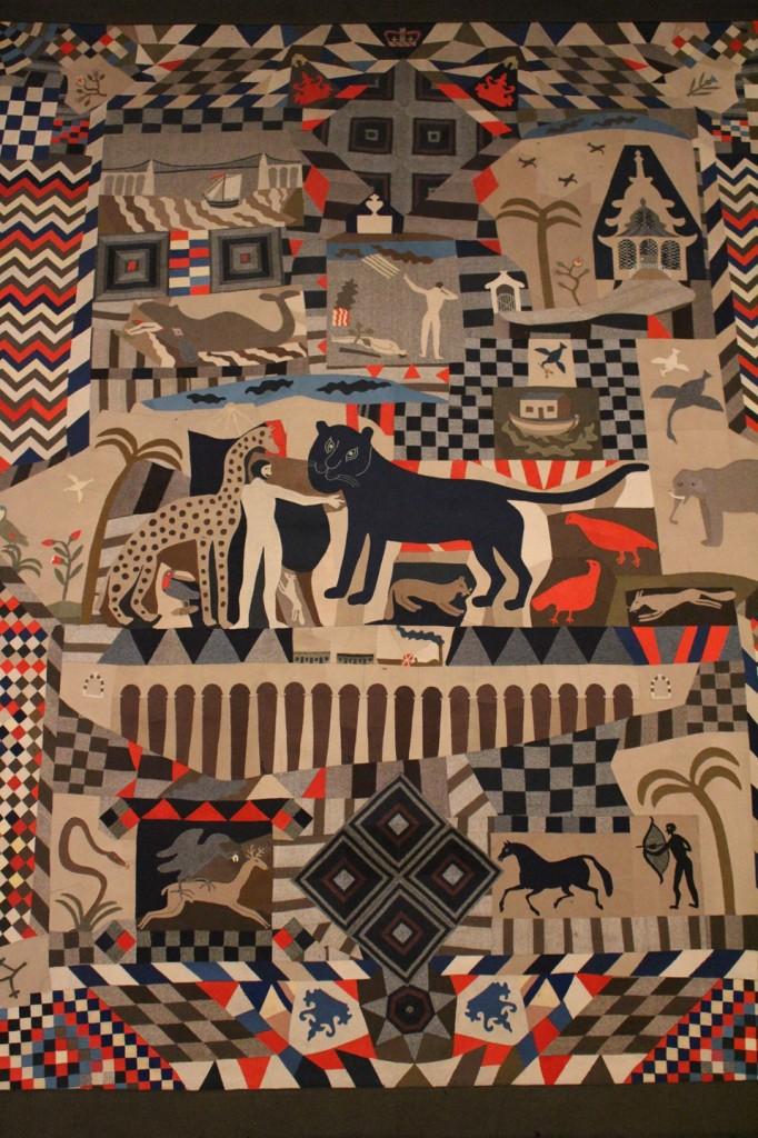 British Folk Art Tate Britain exhibition 2014 Egon Walesch Interior Design