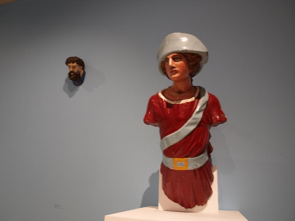 Figureheads British Folk Art Tate Britain exhibition 2014 Egon Walesch Interior Design