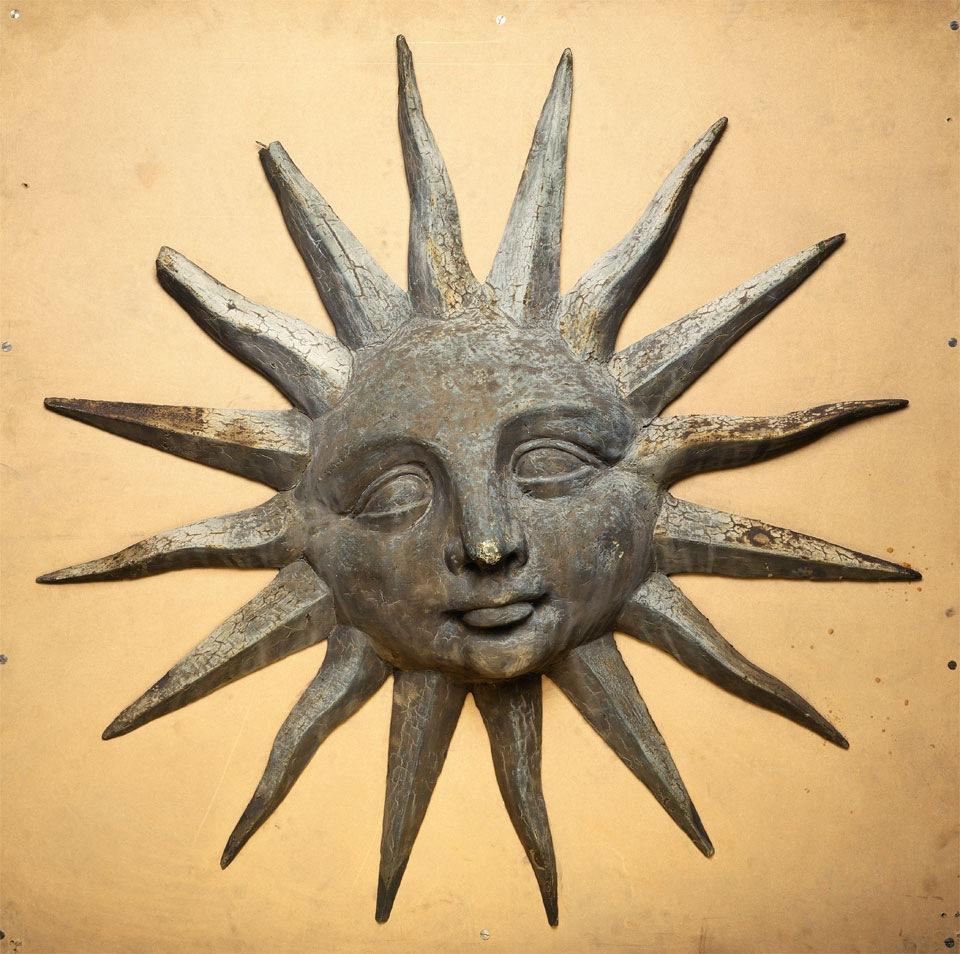 Sun Trade Sign British Folk Art Tate Britain exhibition 2014 Egon Walesch Interior Design