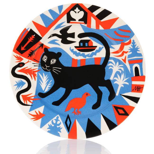 Mark Hearld Platter British Folk Art Tate Britain exhibition 2014 Egon Walesch Interior Design