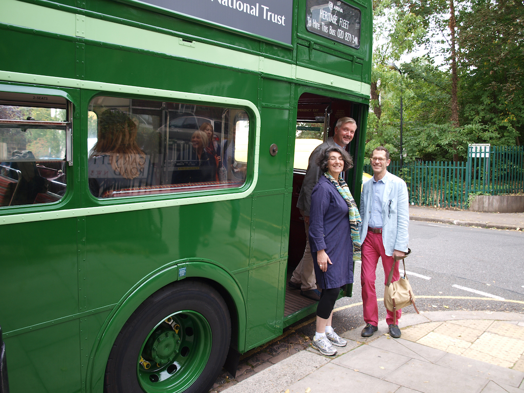 Utopian tour London National Trust Balfron Tower Season Pop-up Alexandra Road Isokon Barbican Routemaster