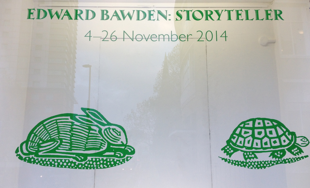 Edward Bawden Storyteller Morley College Eric Ravillious Murals Canterbury Tales Aesop Fables Exhibition