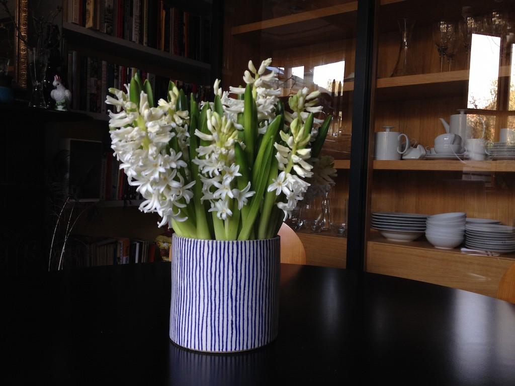 Spring flowers tulips hyacinths ranunculus mimosa Egon Walesch Interiors Blackheath Greenwich