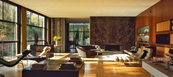 The Homewood Modernist House Sitting Room National Trust Patrick Gwynne Egon Walesch Interior Design