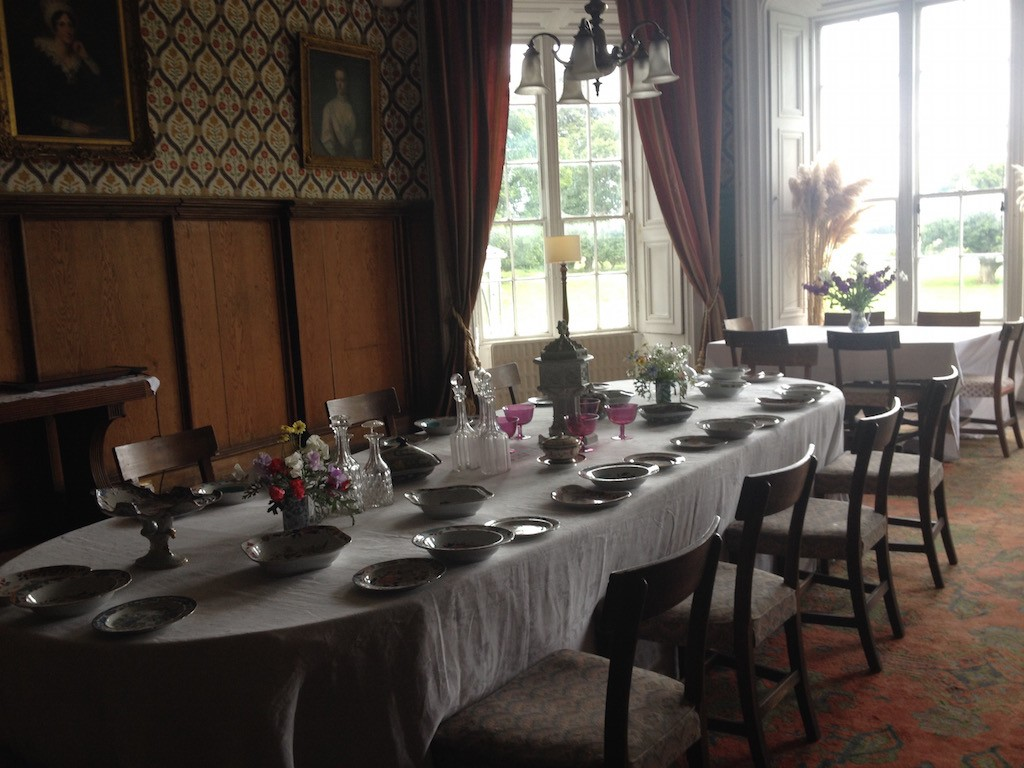 Tullynally dining room